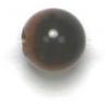 Semi-Precious 6mm Round Tiger Eye Brown